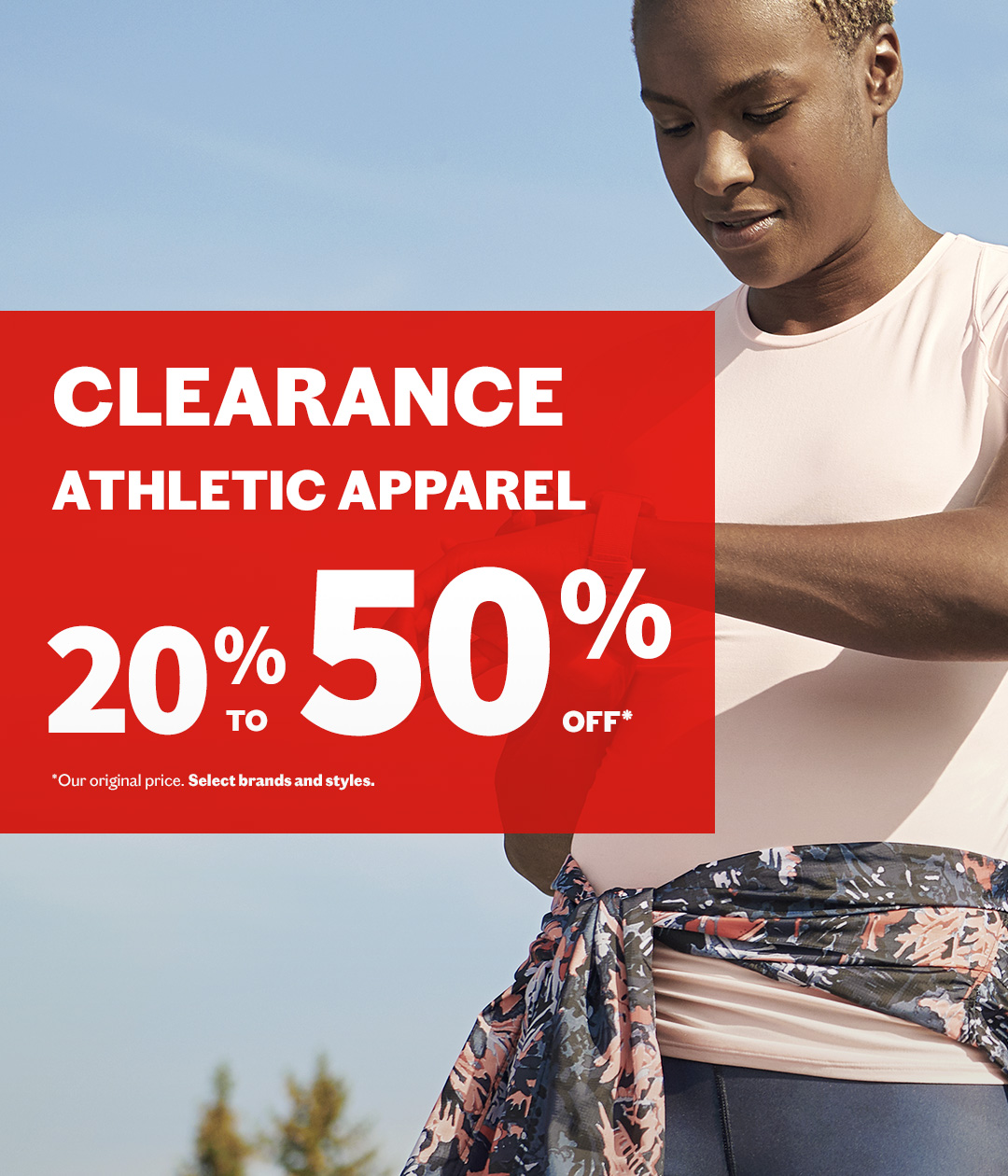 Clearance​ - Athletic apparel​