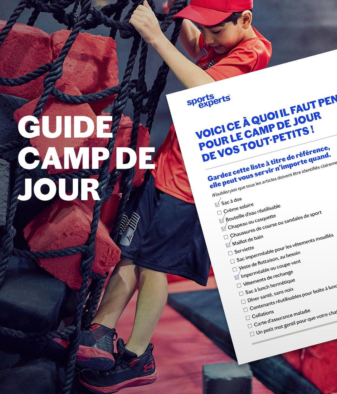 Guide Camp de Jour