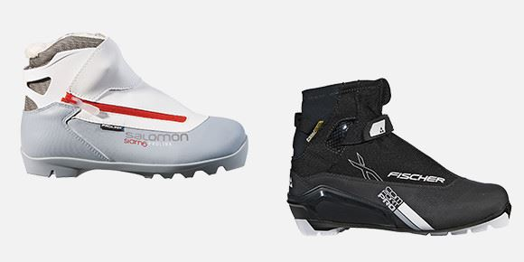 cross-oountry skiing bottes atmo