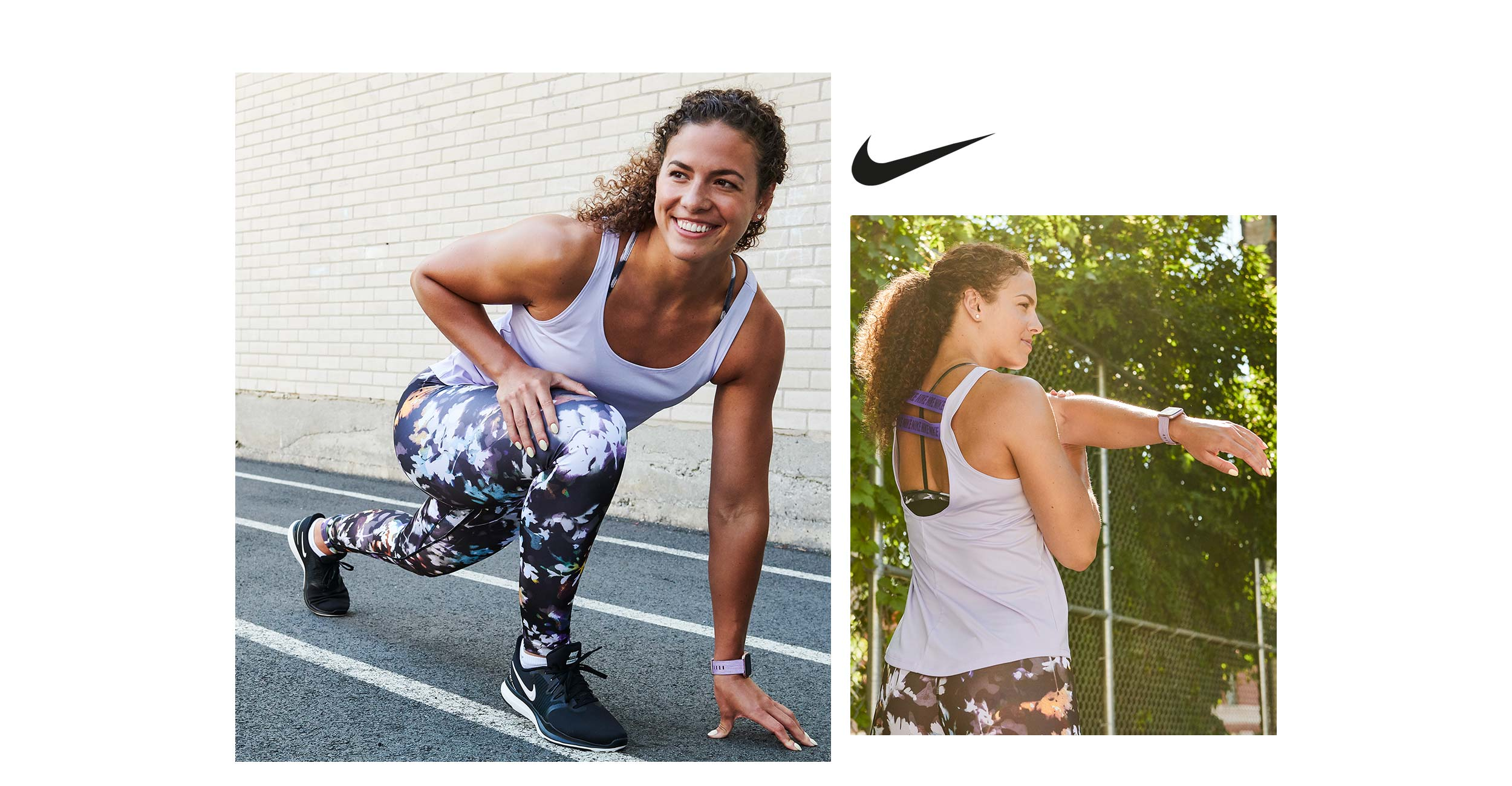 look 2 running women nike