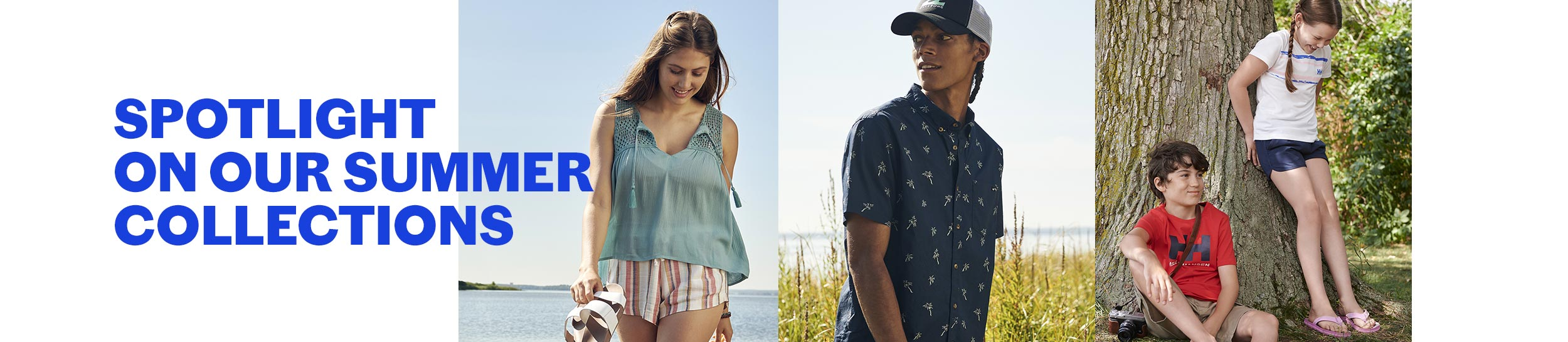 Spotlight on our summer collection