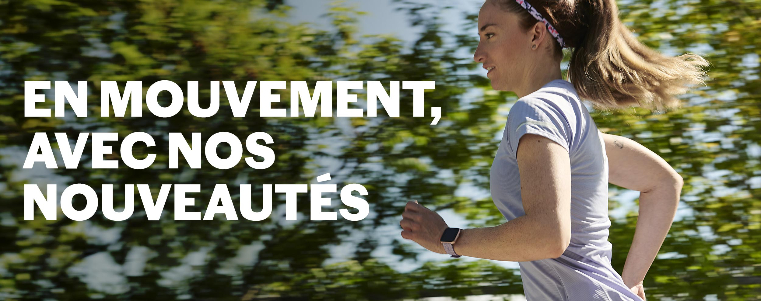 header lookbook en mouvement course femmes