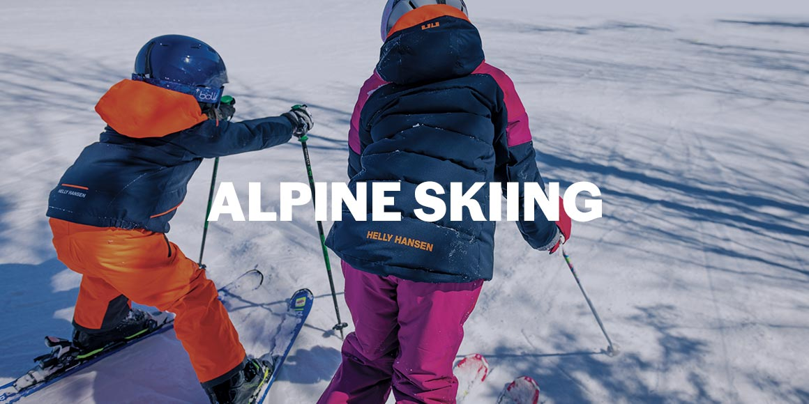 alpine skiing children