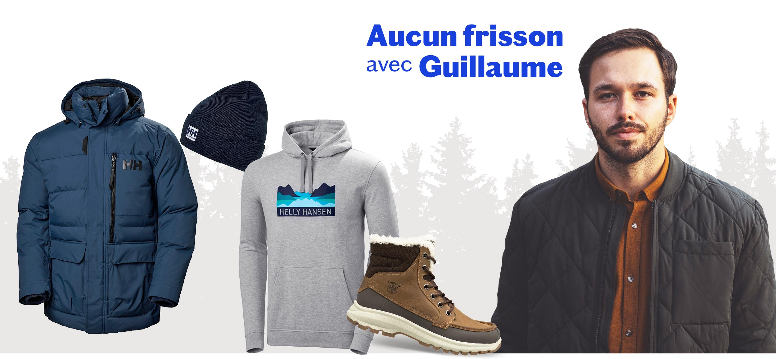 Aucun frisson avec Guillaume St-Amand - influenceur Sports Experts