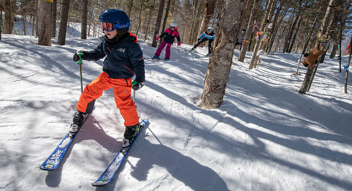 Get your child into skiing