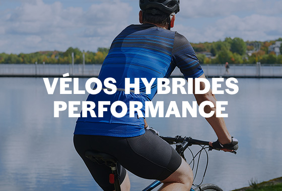 VÉLOS HYBRIDES PERFORMANCE