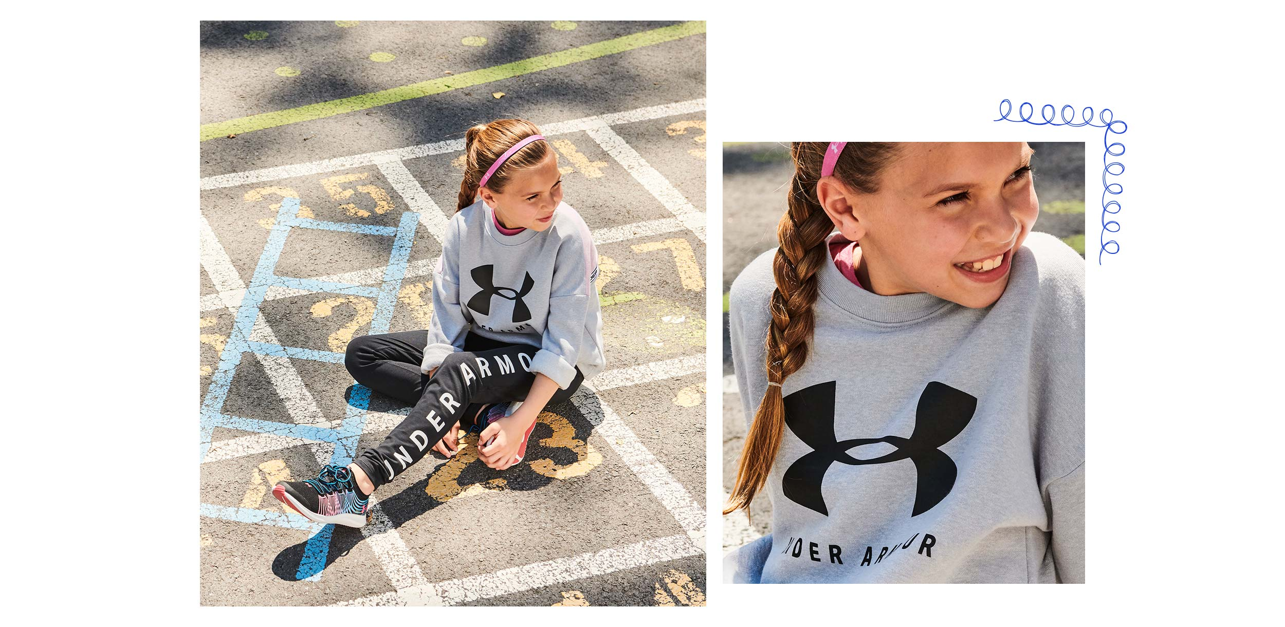 under armour look 1 filles