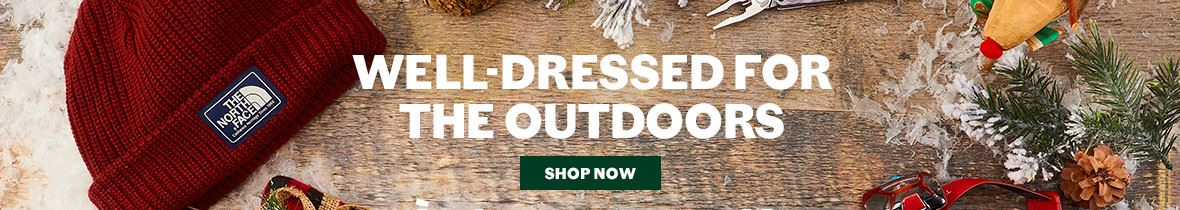 outdoor gift guide 2018 well-dressed for the outdoors