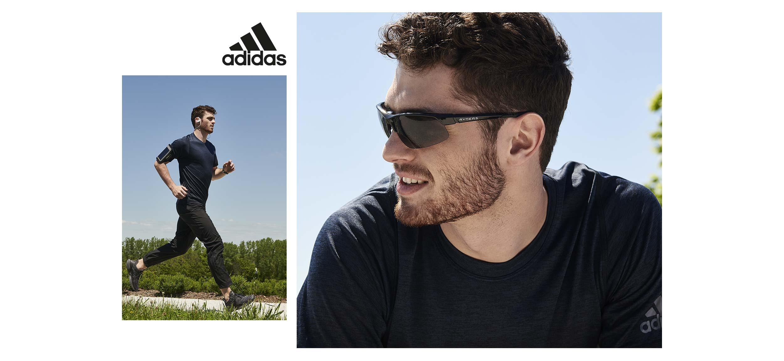 look 1 course adidas lookbook retour aux sports hommes