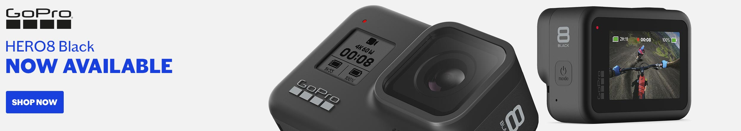 GOPRO hero8 available NOW