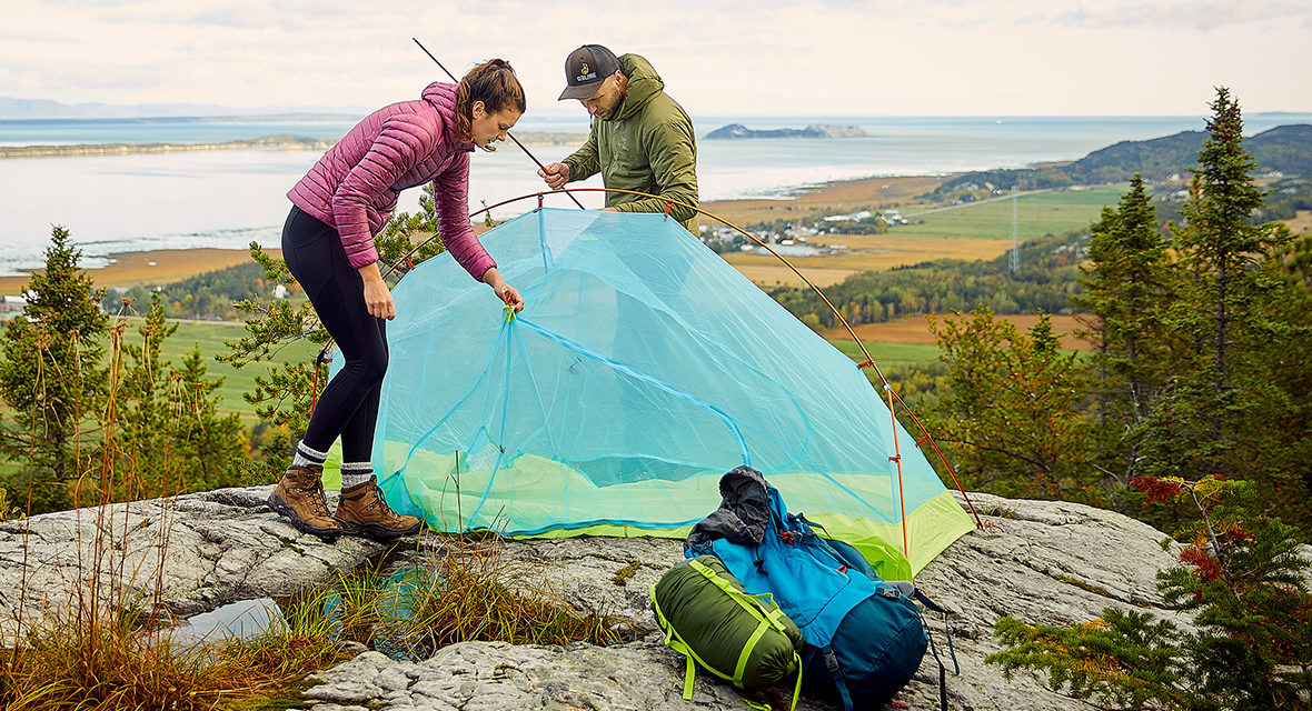 choosing the right tent