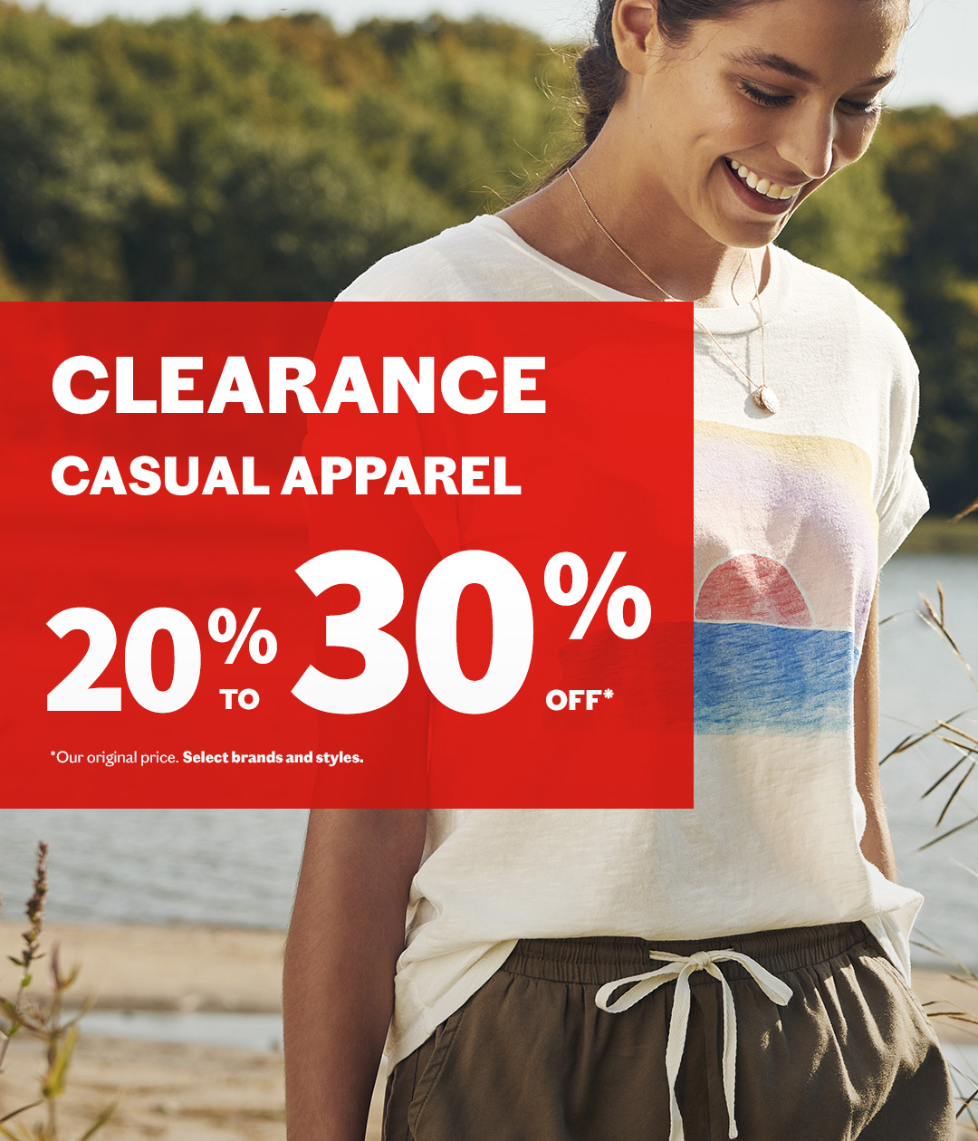 Clearance​ - Casual apparel