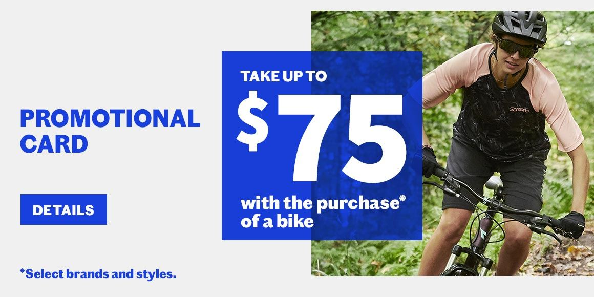 bike promotional card