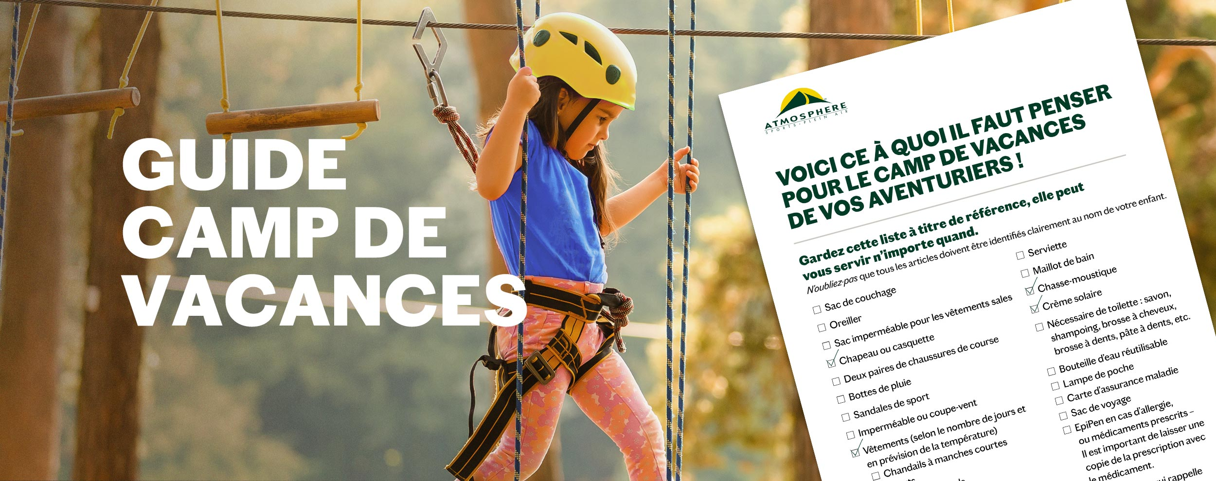 Guide Camp de vacances