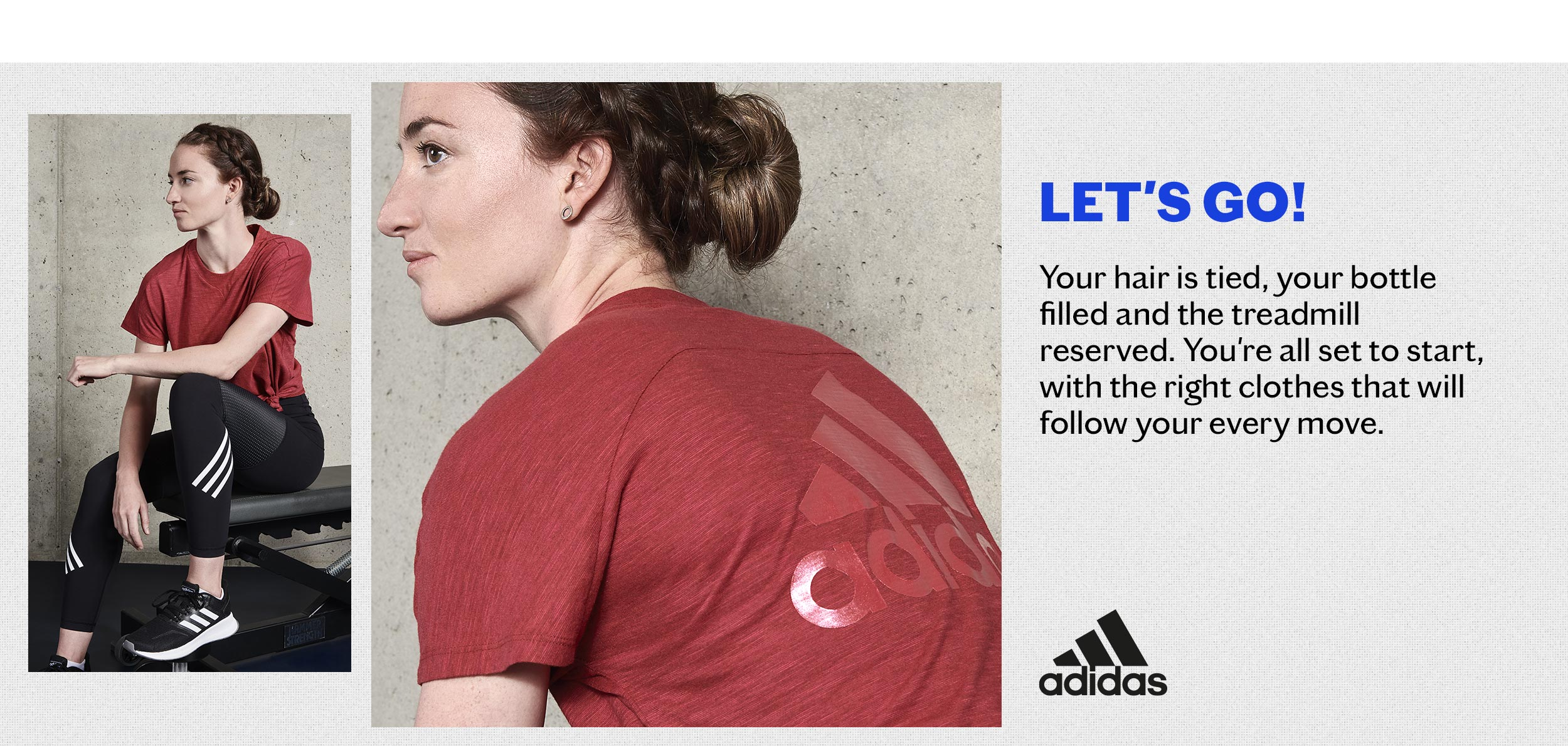 look 5 image return to sports  women training adidas