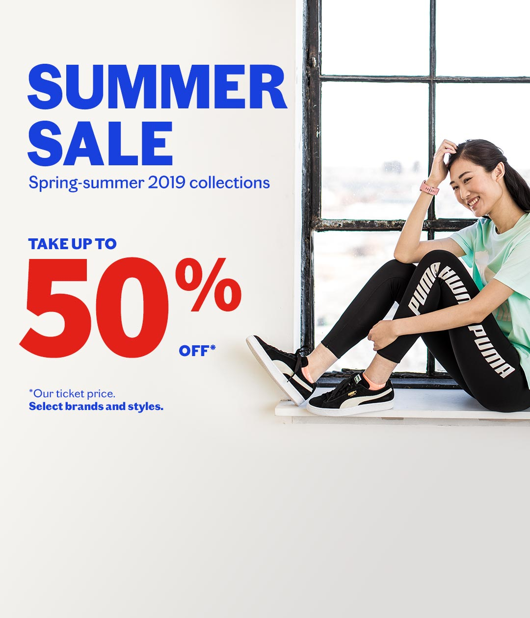 Summer Sale - up to 50% off !