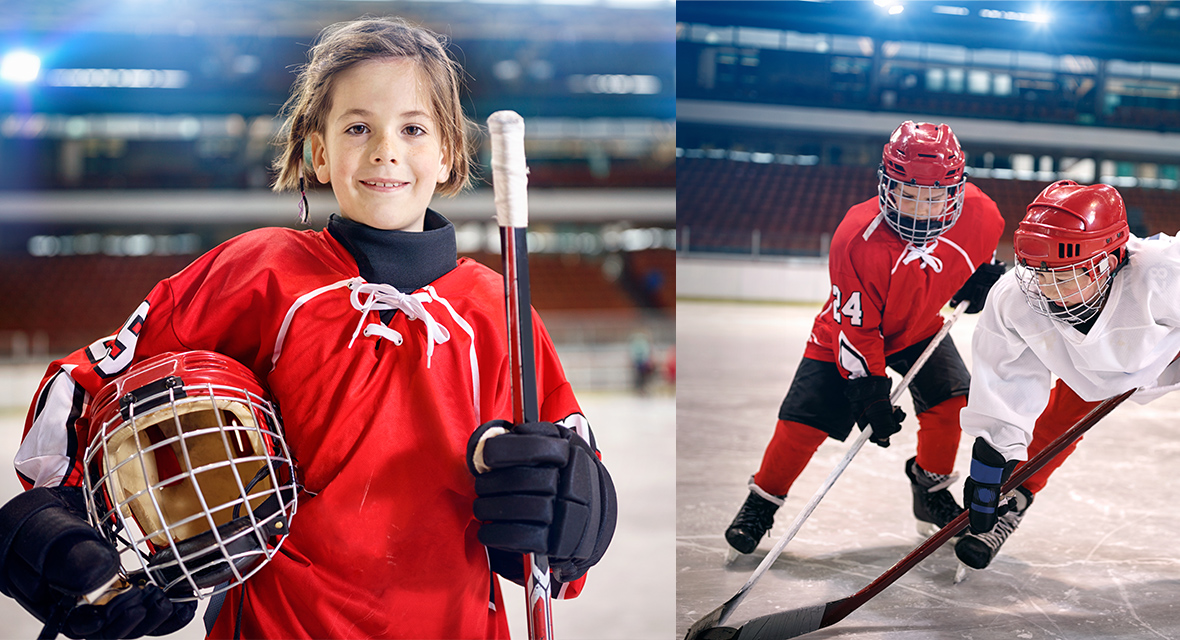 How to properly select kid's hockey equipment