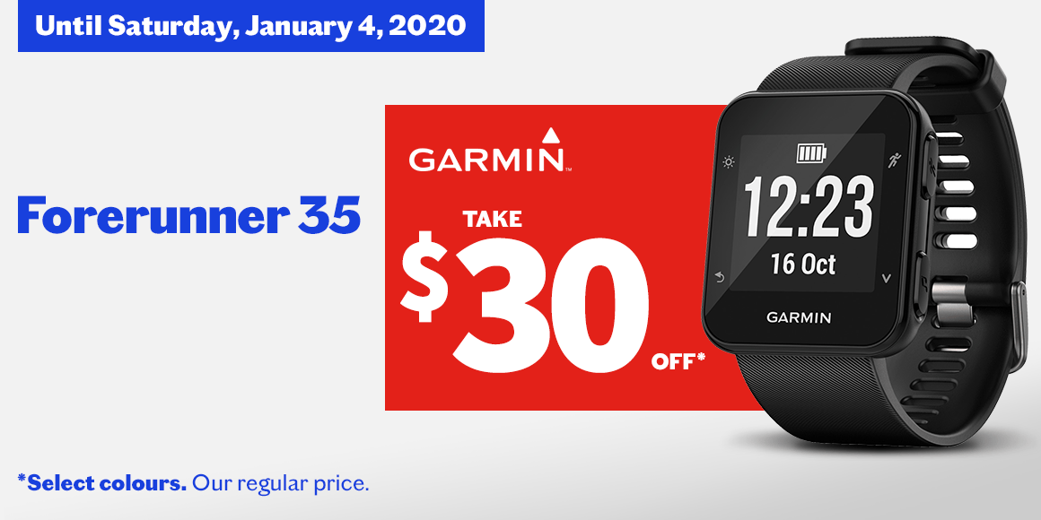 Forerunner 35 - GPS Running Watch With Wrist-Based Heart Rate   - 0 GARMIN Forerunner 35 - GPS Running Watch With Wrist-Based Heart Rate