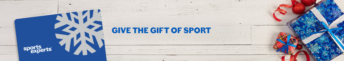 give the gift of sport ---gift card