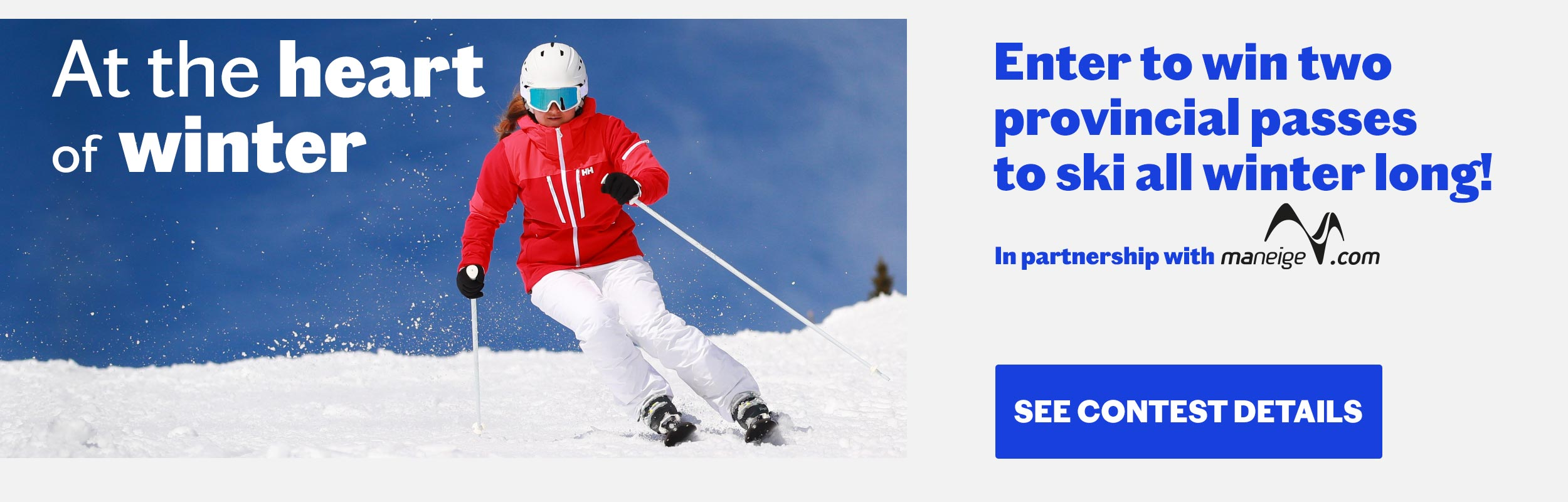 Helly Hansen Contest - Enter to win 2-province-wide alpine ski passes
