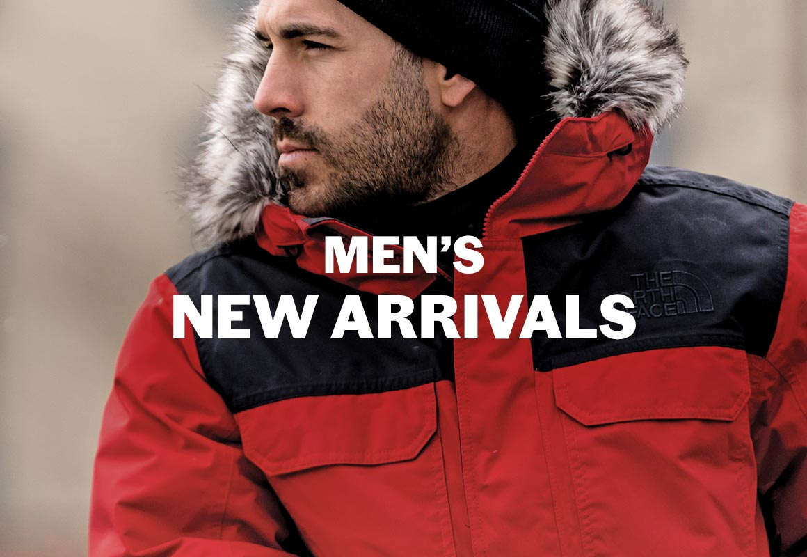 sports experts men's new arrivals