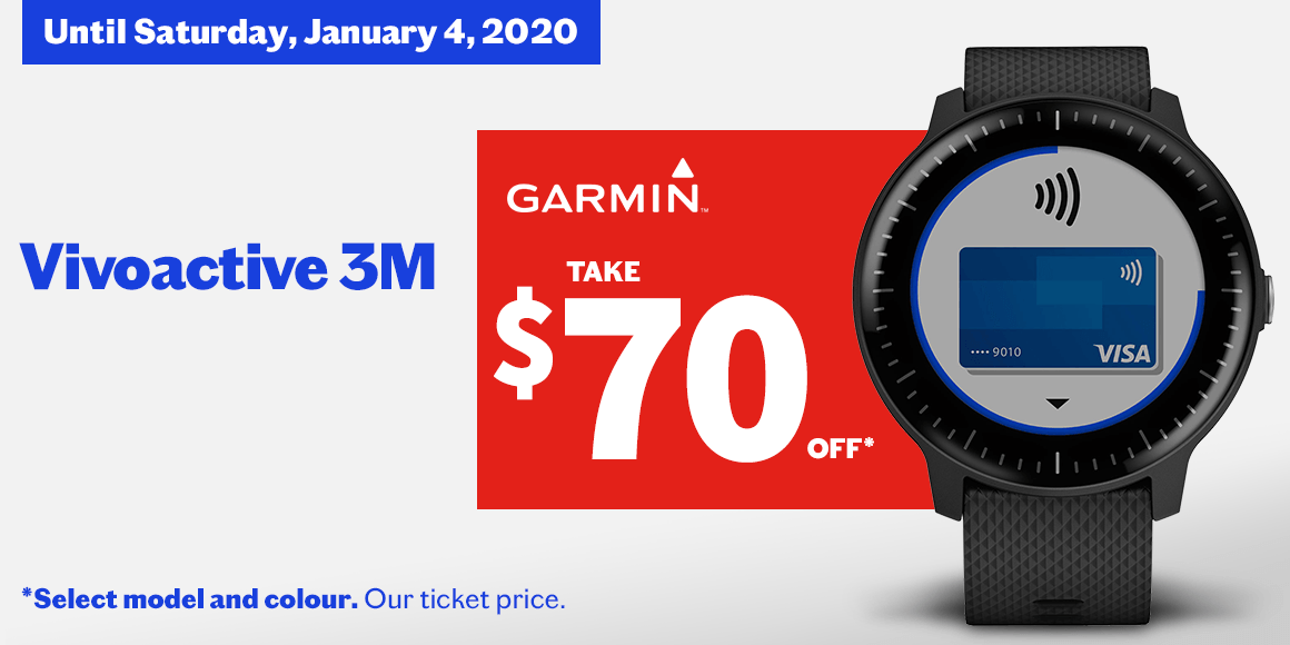 Vivoactive 3M - GPS Smartwatch with Wrist-based Heart Rate - 0 GARMIN Vivoactive 3M - GPS Smartwatch with Wrist-based Heart Rate