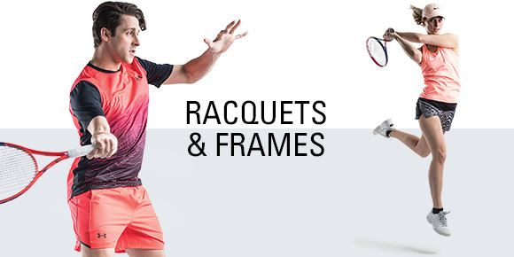 Racquets and frames