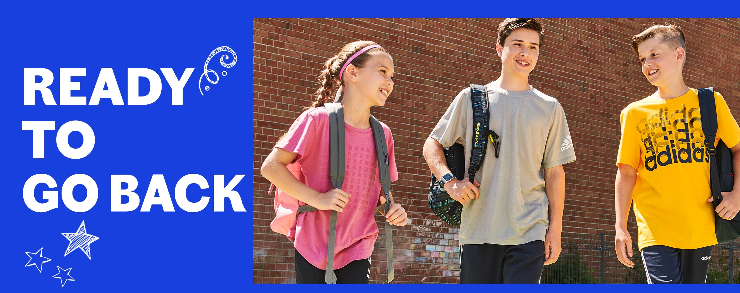 children -ready for back to school 2019