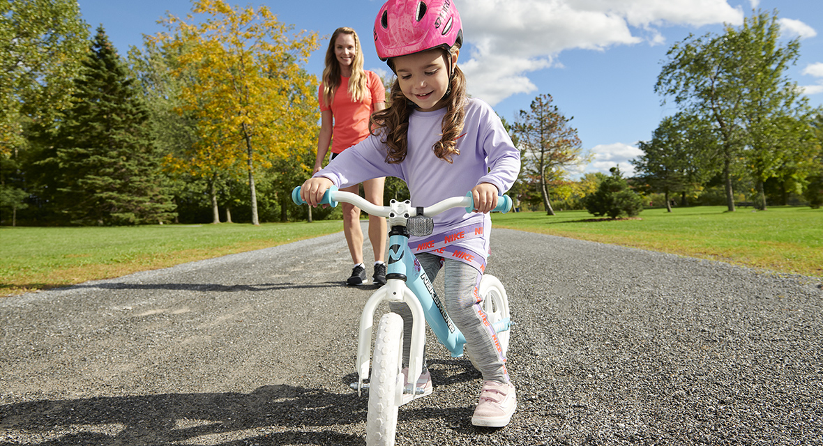 Kids and bicycles: the different steps to learning