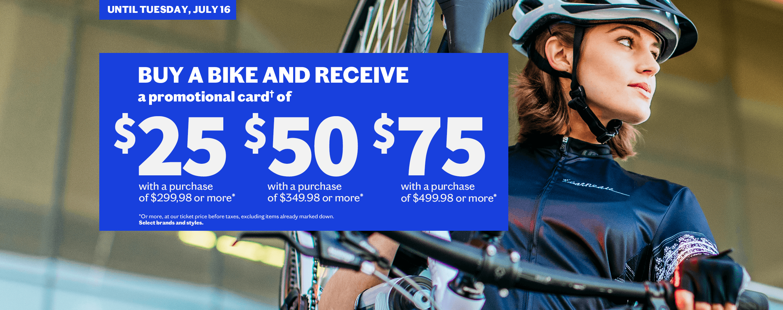 bike promo April 3 to July 16 2019